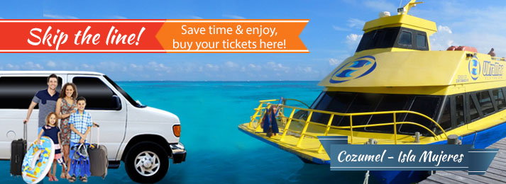How to get to Cozumel ferry dock